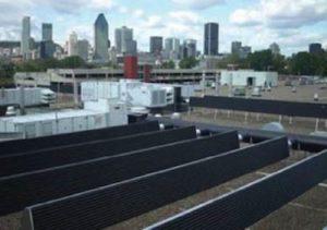Deshumidificador solar industrial